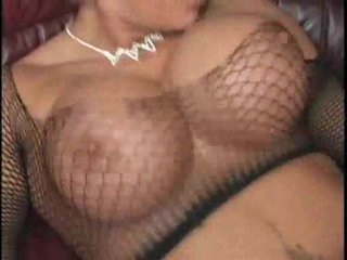 Large tits on blonde bounce during sex