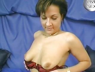 Hot German mom wants his cum