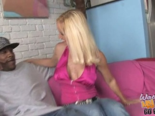 Hot blonde totally tabitha pounded by black dick