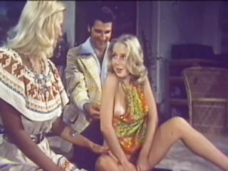 Hot Blonde Babes Go Lesbian and Get Fucked in a Hot Vintage Porn Threesome