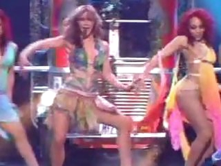 Extremely Beautiful Britney Spears Dancing in a Slutty Outfit