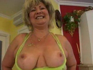 Russian BBW mature anal