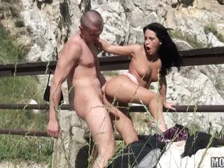 Horny fucked bitch Amabella gets the perfect action she always dream of