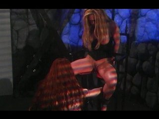 Lesbian BDSM torture will get you horny