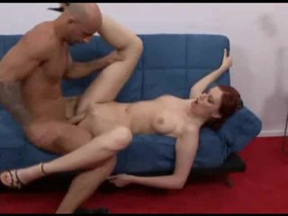 Reality porn with tall and gorgeous redhead