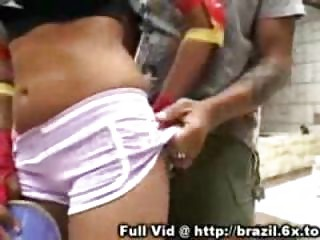 Brazilian Blowjob Outdoors