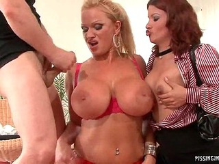 Piss On My Huge Tits