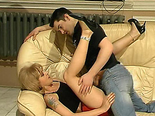 Voluptuous mother i'd like to fuck engulfing powerful knob the way that makes younger guy go avid