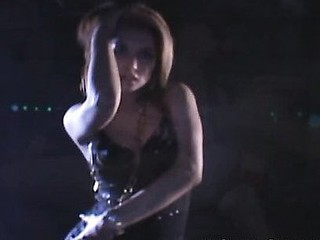 Beautiful Maria Ozawa's hands are restrained in the opening scene as two guys fondle her whoppers and use different sex toys on her fur pie. They made her engulf their jocks and they came in her mouth.