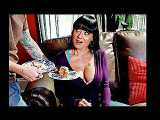 Mahina visits a good ally for tea and cake. When this babe arrives, her ally's son Tommy is being punished and coercive to action as the maid. Mahina learns Tommy is being punished for being a horny little bastard and fucking the maid in the kitchen. Intrigued with his large tit obsession, Mahina shows Tommy how to REALLY..