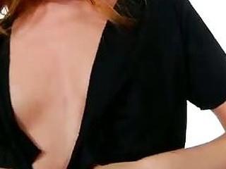 Huge nipples on sexy petite tits