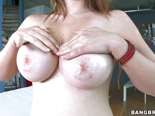 Tiffany Cross is a young white model with large boobies big round ass and a good body overall. She loves to fuck hard and she would do it all day long if she could. This guy likes to finger her pussy with his fingers. After that she gives him the blowjob of his dreams. What a nice slut we got here.