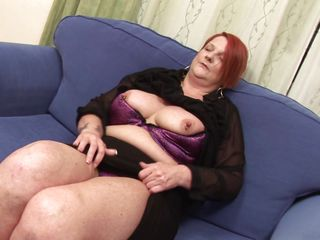 Terri needs to masturbate and she does it in front of the camera. This chubby European mature enjoys our attention and she takes off her clothes before fingering that shaved pussy really deep. Yeah she needs to rub and finger that cunt really hard to get her desired climax.