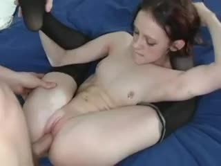 Super skinny and flexible girl fucked hard