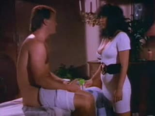 Retro porn with shaving and stroking