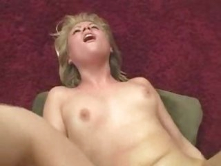 Skinny little hottie takes big cock in tight pussy