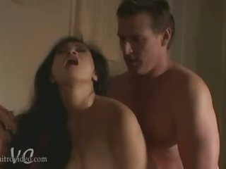 Exotic Asian Babe Syren Gets Her Pussy Fucked and Her Boobs Caressed