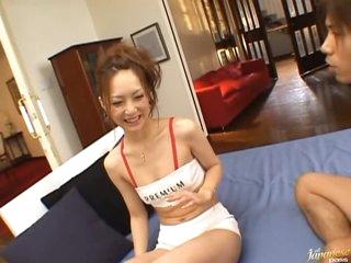 Kinky Race Queen Kaede Fuyutsuki Sucks Cock and Gets Fucked