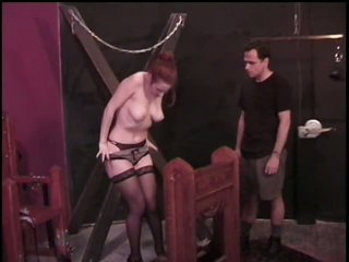 Submissive Brunette Gets Her Big Jugs Tortured By Master Rick Savage