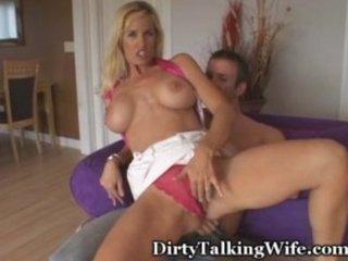Dirty Talking Wife Fucks Neighbor