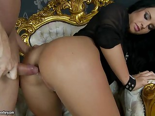 Bettina Dicapri gets her butt fucked balls deep from behind