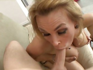 Alluring Tanya Tate mouth fucks this tasty skin flute