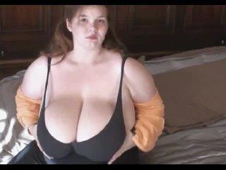 Fat cutie has giant boobs