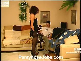 Carol&Vitas perverted pantyhose video
