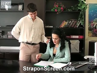 Joanna&Adam kinky strapon video