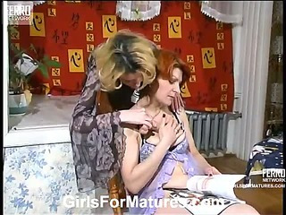 Christina&Ninette mature lesbian movie