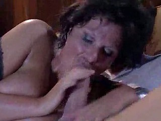 Elegant mature fucked by throbbing cock