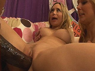 `Blond strumpets are the freakiest whores and thats the kind of horny unresponsible slutty shit we like here on pecker competition! Natalie and Aiden are two of the horniest sluts and have been around, but when they get a load of O.G.'s 14` jock they go fucking insane over it! Winner of this competiton gets a facial and engulf..
