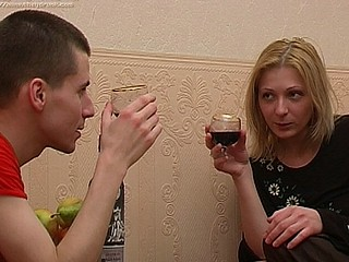 Max is watching as Olga sips from her glass and this guy's hoping that this babe'll get absolutely drunk so that guy can have his way with her out of any trouble. That Guy's been hopeless to fuck her for ages since this chab heard about her constricted cum-hole and how sexy this babe looks undressed. After quite a small in..