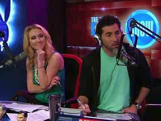 Hosts called couple of girls for an interview in the radio station what happened was that girls forgot to bring their clothes along and that meant this reality show is no longer just the center for hot debates but also for the hot babes as they show all of their assets to the hosts and crew.