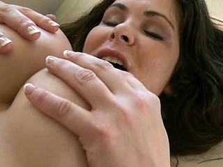 Slutty and vehement honey is licked and banged very well